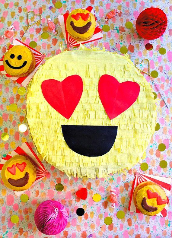 Emoji Pinata  Emoji Party  Mini Piñatas  Emoji by VivaLaFiesta