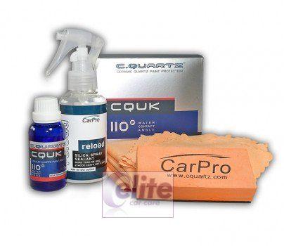 CarPro CQuartz UK Ceramic Paint Protection Kit 50ml incl Reload