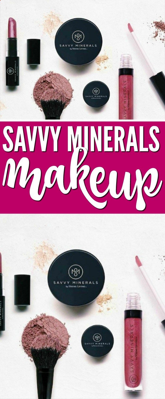 Savvy Minerals Makeup by Young Living! A new, Everyday
