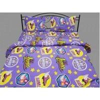 Lenjerii de pat copii Luna mov 140x210