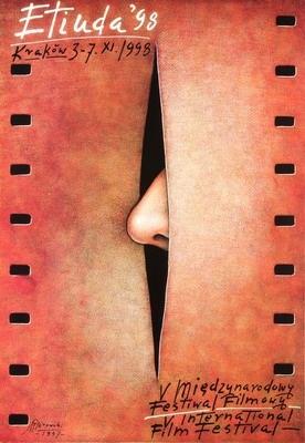 By Gorowski Mieczyslaw, 'Etiuda'98 - film festival', 1 9 9 8, film poster.