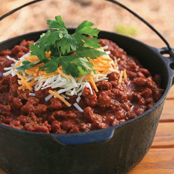 Award Winning Log Home Builders: Award-Winning Chili (From Cast-Iron Cooking With Sisters