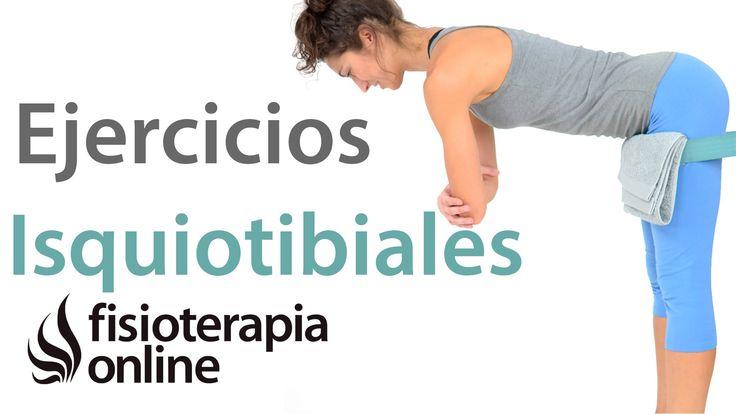 Ejercicios para fortalecer isquiotibiales y músculatura posterior de las...
