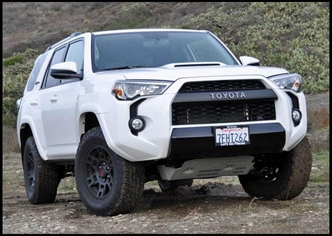 2017 Toyota 4Runner TRD Pro White