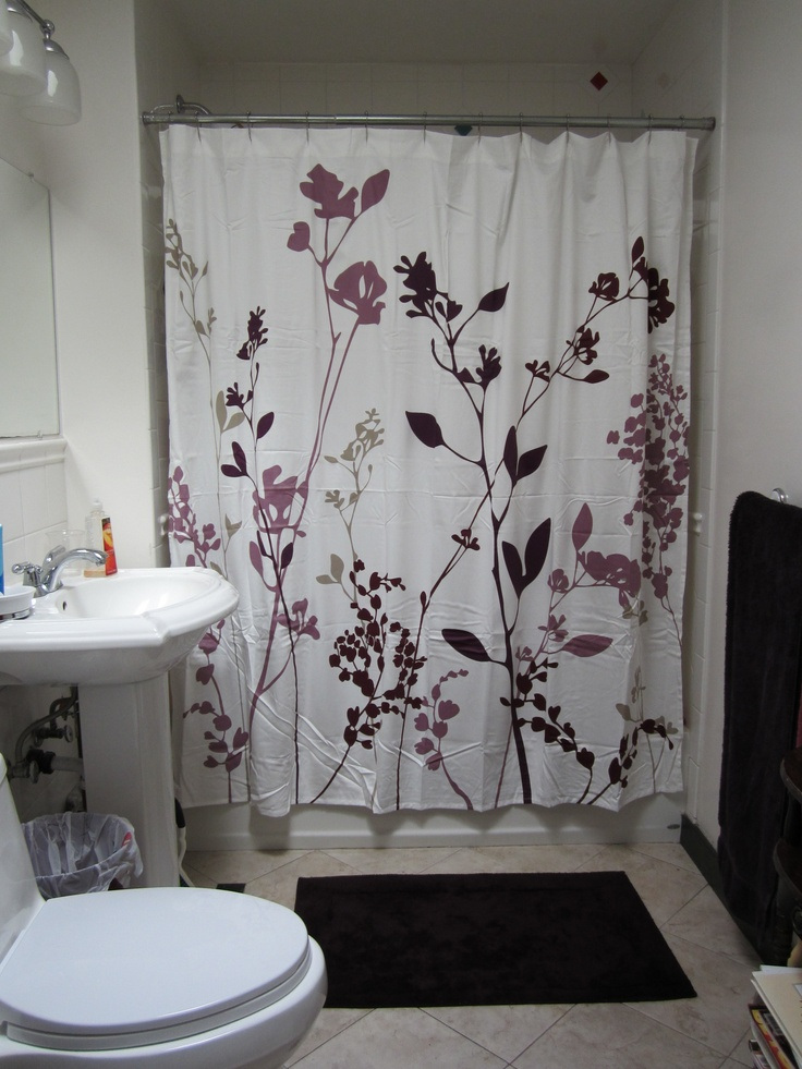 15 best ideas for my grey and purple bathroom images on for Grey and purple bathroom ideas