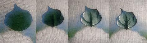 Pintura em Tecido Passo a Passo: Como pintar folhas em tecido