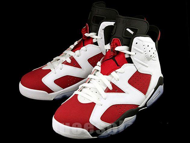Nike Air Jordan 6 Carmin 2014 Nfl