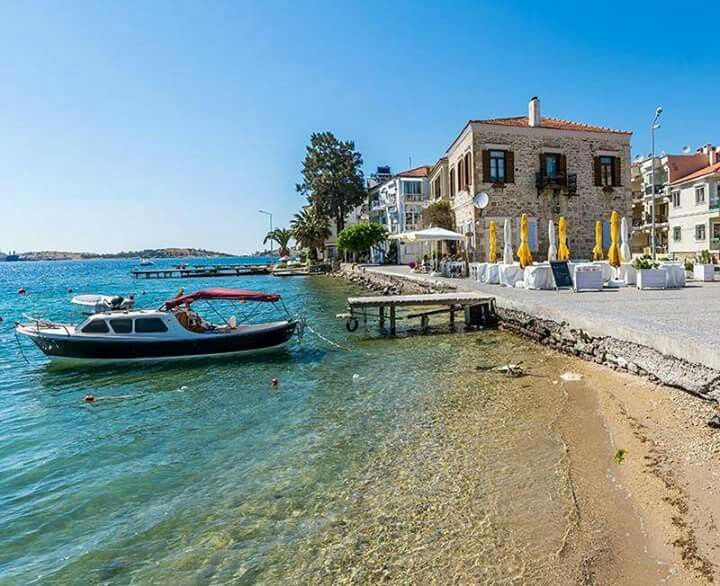 Foça (ancient Phocaea) near İzmir on Turkey's Aegean coast