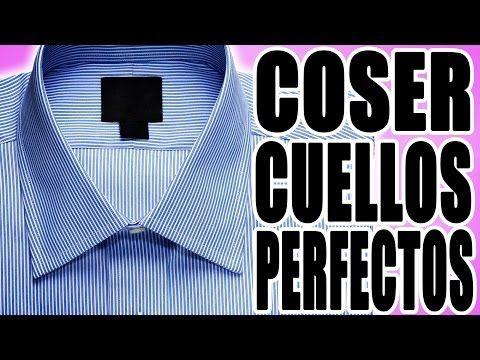 Cómo coser un cuello perfecto - YouTube