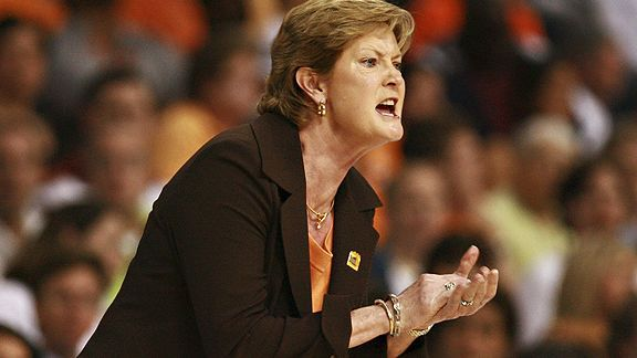 My hero, Pat Summitt.  She happens to be the all-time winningest coach in NCAA basketball history (men or women).