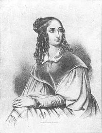 Flora Tristan (7 April 1803 in Paris – 14 November 1844 in Bordeaux, France) was a socialist writer and activist. She was one of the founders of modern feminism. She wrote several works, the best known of which are Peregrinations of a Pariah (1838), Promenades in London (1840), and The Workers Union (1843). Tristan was the grandmother of the painter Paul Gauguin.