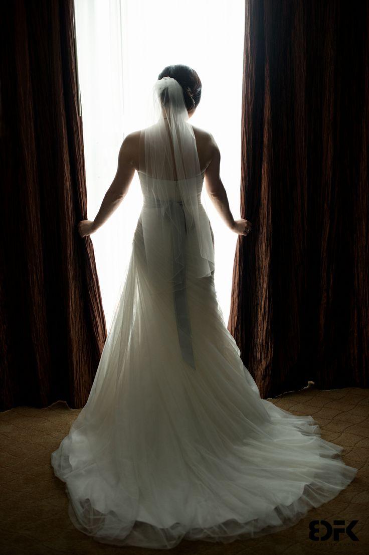 Bride Portrait - Edmonton - Matterra Hotel