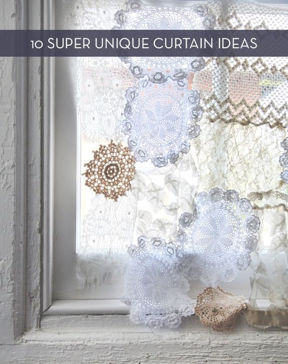 Eye Candy: 10 Unconventional Curtain Ideas For Your Home » Curbly | DIY Design Community