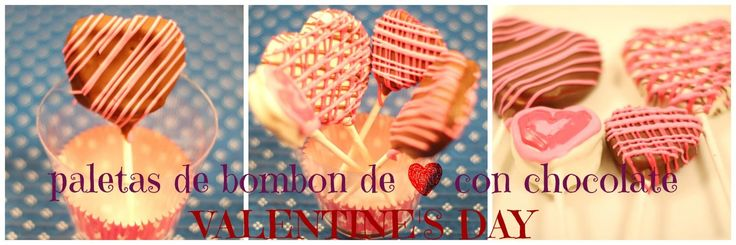 PALETAS DE CORAZON CON CHOCOLATE  / VALENTINES DAY /  CHOCOLATE MARSHMAL...