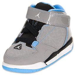 No matter what your little tyke likes to get into, the Jordan As You Go Toddler Basketball Shoes are perfect for a wide range of activities. Whether romping around the living room or trekking through the yard, your little one will have the comfortable support they need.   The lifestyle look and feel of these basketball shoes is sure to look great with a wide variety of your toddler's outfits. The simple and clean upper with a mesh-like material ensures that little feet stay comforta...