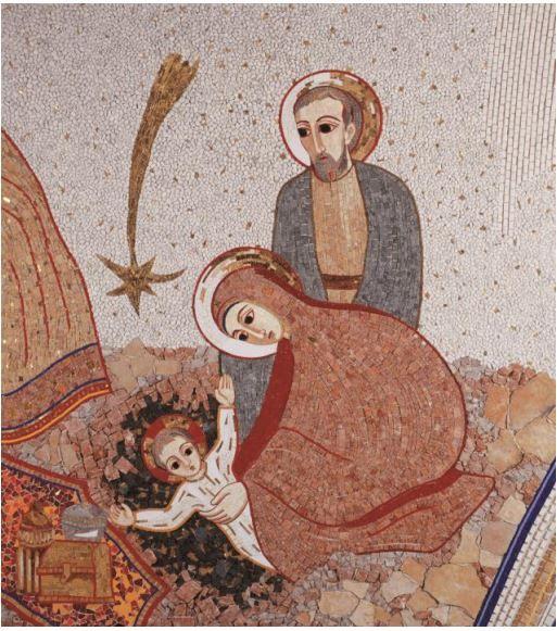 """""""Nativité"""", chapelle Casa Incontri Cristiani, Capagio"""