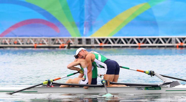 Paul et Gary O'Donovan (Irlande/Ireland) - 12 août 2016, Rio, deux de couple poids légers masculin // 12 August 2016, Rio, men's lightweight double sculls