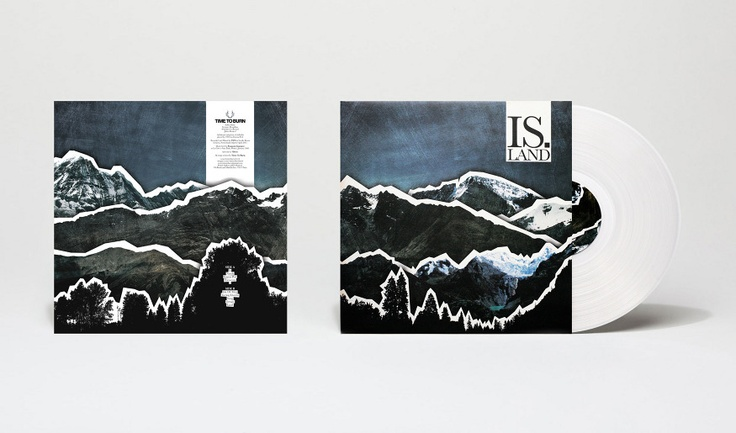 Packaging design for french band Time To Burn. Vinyl Edition. 2008.   www.weweretimetoburn.com