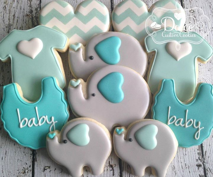 66 Best Elephant Party Blue And Gray Baby Shower Birthday