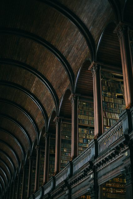 Trinity College Library, The Long Hall by Beth Kirby | {local milk} - It was magical.