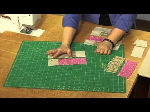In this Quilting Quickly tutorial, Fons & Porter sewing specialist Colleen shows you how to make four different quilted placemats. Table For Four is featured...