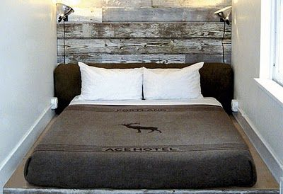 because bed frames and box springs are overrated manly noble gallant valiant pinterest photo collage walls warehouse loft and traditional bedroom