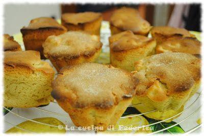 Torta o Muffin d'avena e mele