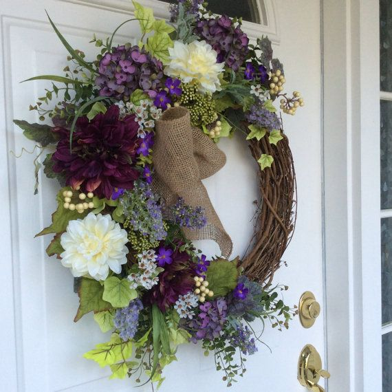 spring wreathfront door wreath for day chic