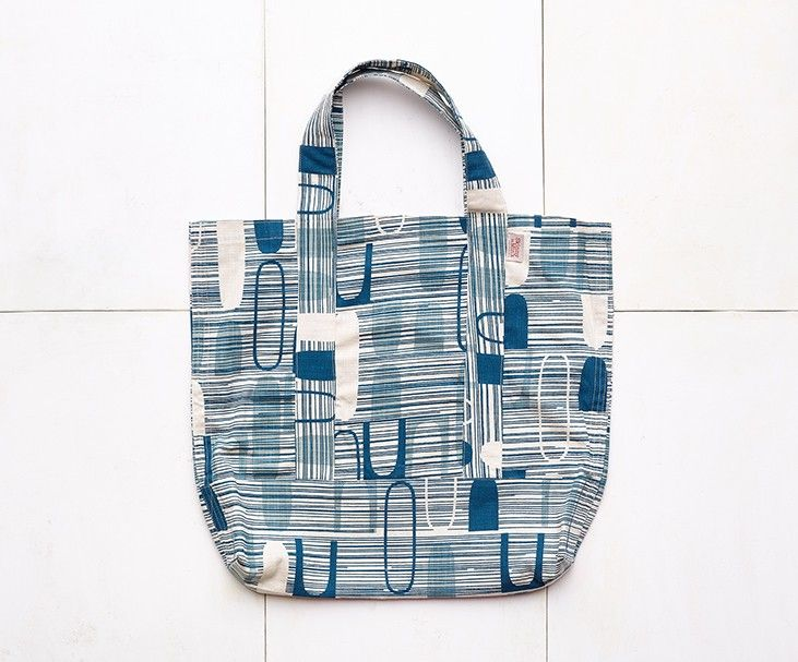 Skinny laMinx Ovals Tote, Petrol - Winter Collection - Heath Ceramics