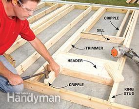 165 best share garage workshop ideas images on pinterest how to build a garage framing a garage solutioingenieria Gallery