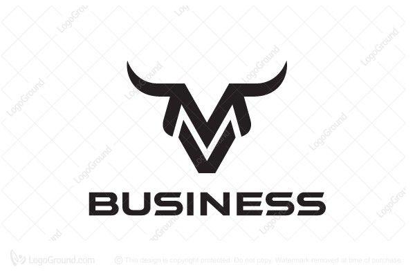 Exclusive Logo 75699 Letter M Bull Logo Logo Board Bull Logo -