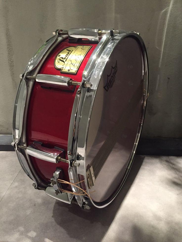 Pearl CS1450 CHAD SMITH SIGNATURE SNARE DRUM Steele 14×5 入手困難!超絶パワー!サウンドスタジオノア秋葉原店03-5816-8383 #drum #music #studionoah #ドラム #スネア #Pearl #CHADSMITH