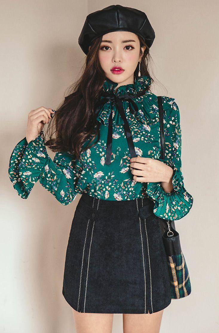 Korean Fashion|Preppy @oliwiasierotnik