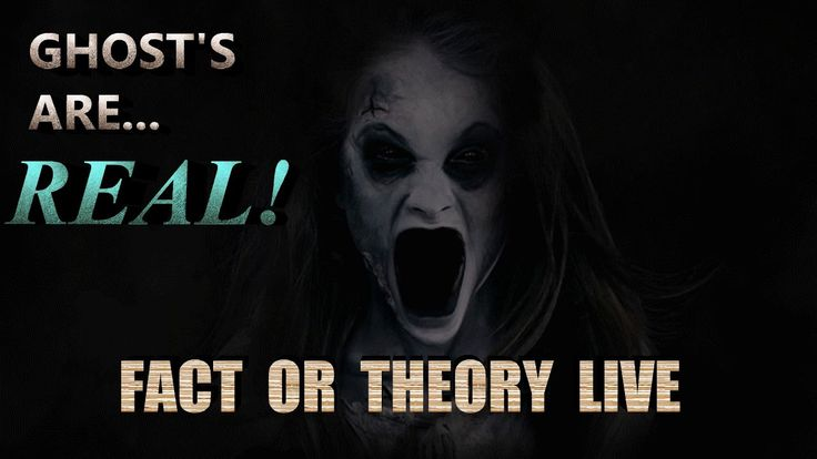 GHOST'S ARE REAL!!! FACT OR THEORY LIVE! HD