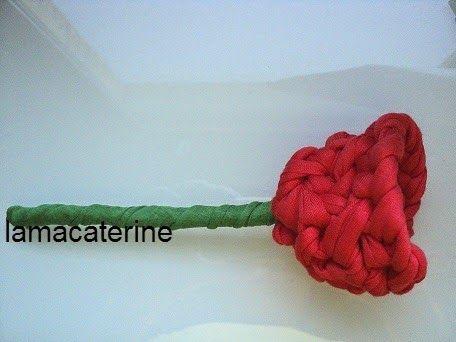 Las labores y manualidades de caterine como hacer una - Como hacer flores de ganchillo ...