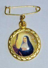 St Rita Lapel Pin.