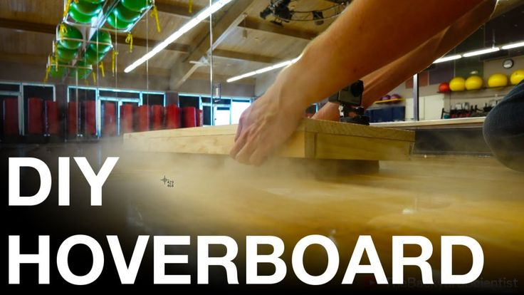 The Backyard Scientist Demonstrates How to Easily Build a DIY Hoverboard Powered by Dry Ice