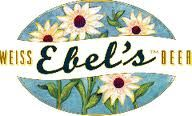 Ebel's Weiss Beer - two brothers brewery Chicago - play on song from sound of music - Austria ' s flower adelweiss