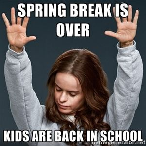 Brea Teacher Funny Spring Memes Wwwpicturessocom
