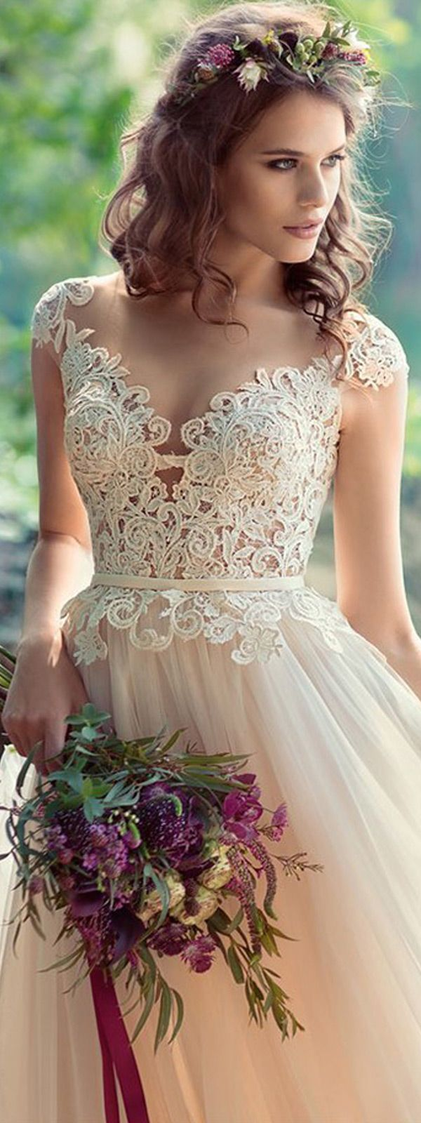 Lace wedding dress under 500 february 2019  best Wedding Dress images on Pinterest  Weddings Bridal and