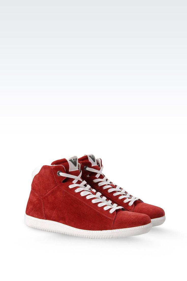 Emporio Armani Men High Top Sneaker