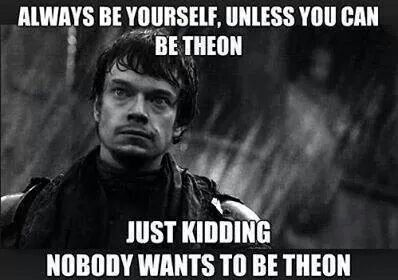 Game of Thrones funny, Theon