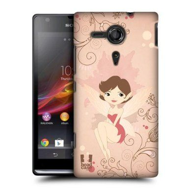 Amazon.com: Head Case Designs Piper Pixie Snap-on Back Case Cover For Sony Xperia Sp C5303: Cell Phones & Accessories