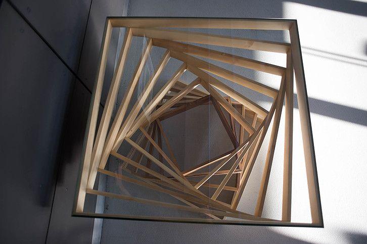 Kwadroforma    wood or plywood, glass