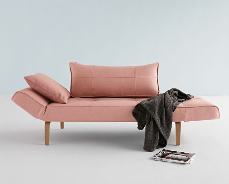 Inspirational Zeal Folding Sofa Pink by Innovation Living Denmark