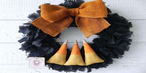 Awesome Halloween Wreaths with Gothic Halloween Wreath