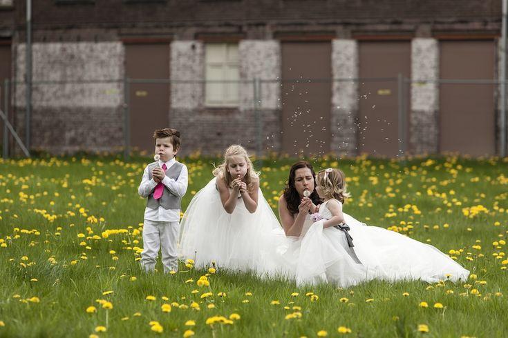 10 tips om de kinderen op je bruiloft te vermaken