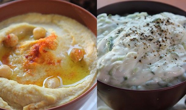 Humous and Tzatziki : Food : The Home Channel