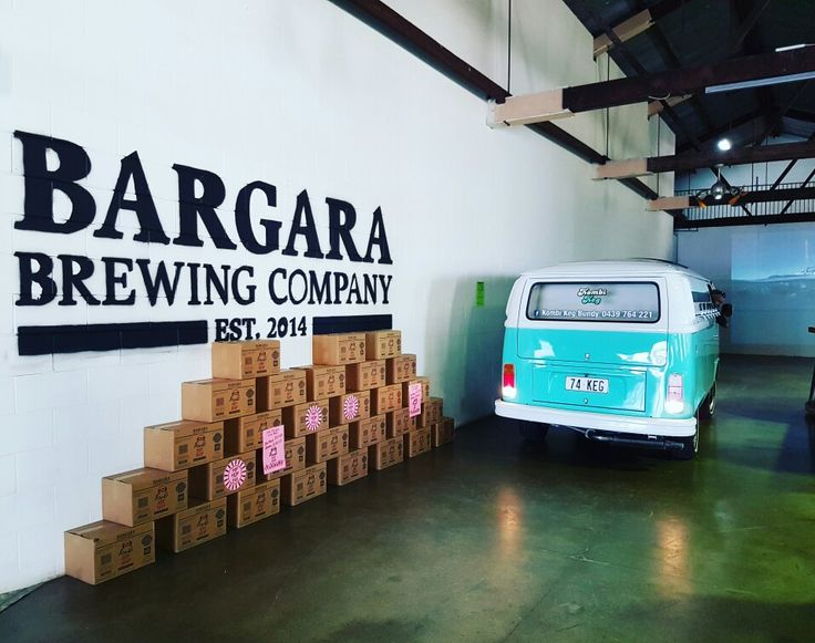 Collaborating with Bargara Brewing Company