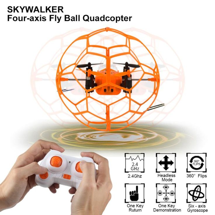 ==> [Free Shipping] Buy Best Mini Drone Helic Max Sky Walker 1340 2.4GHz 4CH Fly Ball RC Quadcopter 3D Flip Roller headless Drone RC Helicopter toys Online with LOWEST Price | 32773246970
